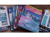 Large Bundle of Surfing Magazines - Wavelength, Surf Scene, Surfer etc Very Good Condition