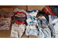 Big Newborn bundle boy clothes-excellent condition!