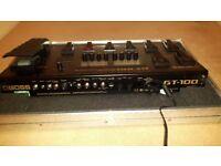 Boss G T 100 Guitar Effects Pedal