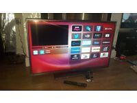 """HITACHI 42"""" SMART LED TV WIFI"""