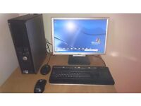 Dell Optiplex 755 Computer with 19 inch Acer monitor, 2.4 Ghz Intel and 3.25g ram