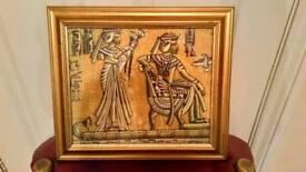 Egyptian scrolls 📜 framed