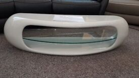 Pebble High Gloss TV Stand By Greenapple Can Deliver
