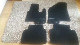 Kia Sportage mats . Set of 4 black.