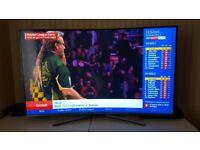 SAMSUNG 55 INCH CURVED 4K HDR SMART TV,