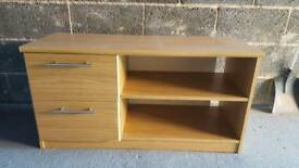 Tv unit and 2 drawers