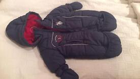 Snow suit 6-9m Polo