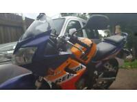 Honda cbr125 repsol colours. Could deliver