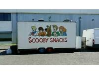 Snack van and pitch business