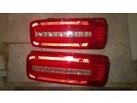DAF led truck rear lights