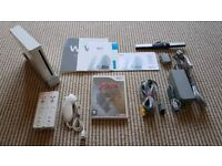 Nintendo Wii Bundle and Game - Controllers (x2) - Original Cables and Instructions
