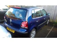 VW Polo 2009. low mileage. great condition