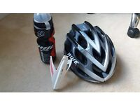 helmet and water btl