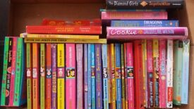 40 books aimed at girls.