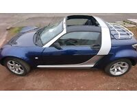 Smart Roadster in blue 100+bhp convertible and great mpg