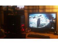 GAMING PC AMD 8350 4GHZ ASUS MOBO ASUS STRIX GTX 960 DX 12 2GB GRAPHICS 8 GB RAM Corsair 250gb SSD