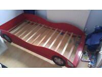 Kids Car Shaped Bed