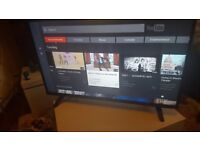 LUXOR 43 TV SUPER Smart HD TV,Built in DVD,Wifi,Freeview HD, NETFLIX, Ex-Display/NEW