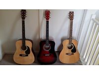 Full Size Acoustic Guitar - Yamaha / Falcon / Martin Smith - Good condition