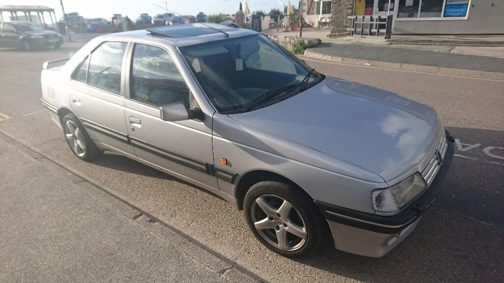 rare peugeot 405 stdt td turbo diesel xud silver saloon no rust cheap to run ultra. Black Bedroom Furniture Sets. Home Design Ideas
