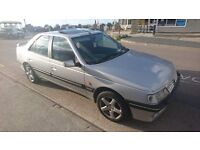 RARE Peugeot 405 STDT (TD/Turbo diesel/ Xud) Silver Saloon (No rust, cheap to run & ultra reliable)