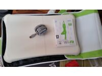 Wii fit plus Wii board, battery pack and board cover