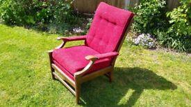 Cintique Arm Chair - Antique Vintage Retro Classic