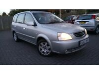 Kia Carens 1.8 petrol 73k miles only MPV cheap car