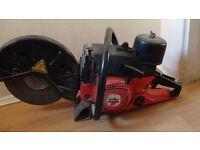 Dolmar/Stihl petrol concrete saw + extra new blade
