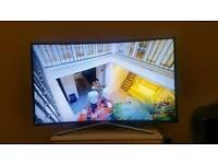 "Samsung 49"" Smart Curve Tv"