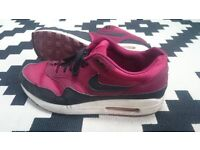 Nike Air Max 1's, UK Size 9, Good Condition, Rare Colour, With Original Box, £40 Offers