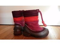 ECCO Snowboots girls size 4/5 (EU 21) - excellent condition