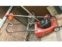 Spares or repairs Lawnmower & Strimmer