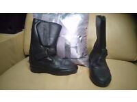 Akito motorbike boots unisex