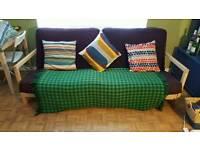 Sofa bed 3 seater futon convertible