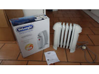Mini Electric oil filled radiator DeLonghi TRN0505M