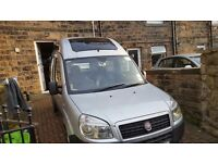 Fiat doblo 1.9 wheelchair accessible 2009