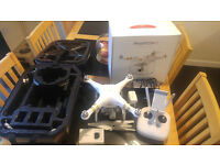 DJI Phantom 3 Professional, Extra Battery, Backpack, HDMI out, 4K, Drone