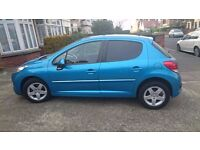 Peugeot 207 (2011) 1.4L, Manual, Great Condition, Low Mileage, Full MOT/Service History