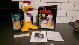 Retro prima duck popcorn maker