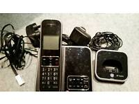 BT Inspire twin cordless phones with answering machine