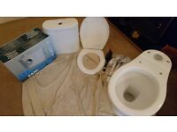 SFA Sani Pro XR Macerator Brand New in Box + Toilet suite