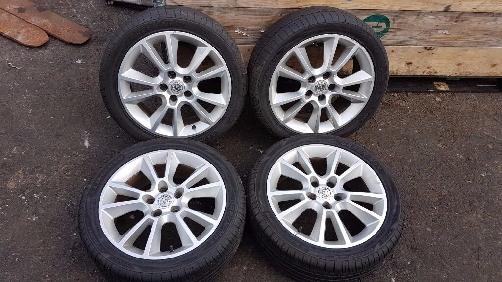 Vauxhall Astra 2009 5 Stud 225/45/R17 Alloy Wheels & Tyres - May fit makes and models
