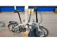 Raleigh Evo Two *Folding bike Brompton unisex brand new*