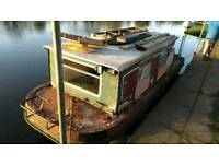 19ft. Canal Boat (Downcraft Dandy)