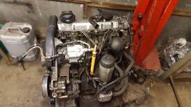 VW 1.9 GT TDI engine - ( Also fit Audi ,Seat, VW, Skoda ) - 150BHP --- £110