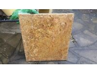 Granite Slab - Light Brown - 30mm x 483mm x 550mm
