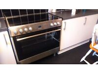 Flavel range cooker. 90cm wide. Used, all working
