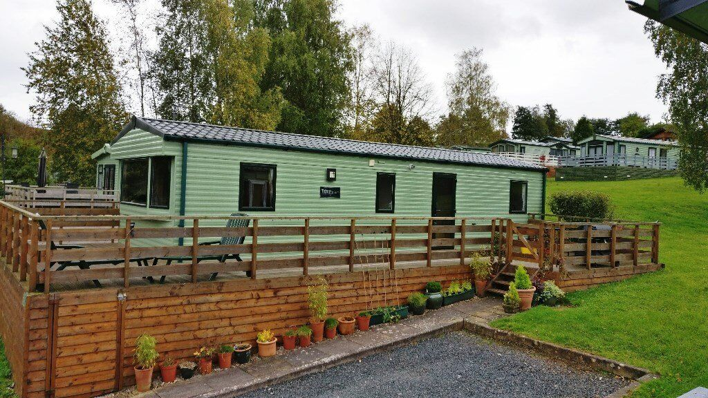 Abi Tebay Platinum caravan 3 bed room - Wild Rose Appleby near lake district and western dales