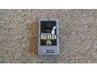 EHX Screaming Bird Treble Booster Pedal